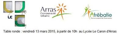 logos JLC CUA Atrébatie